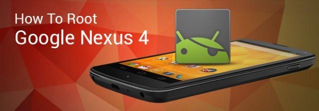 Nexus 4: root semplice con CF-Auto-Root