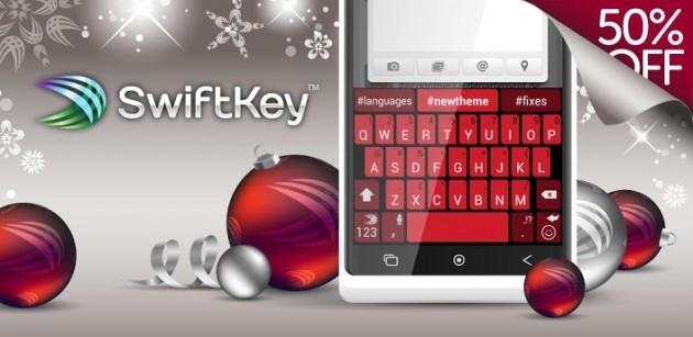 SwiftKey si aggiorna alla versione 3.1 e viene scontata del 50%