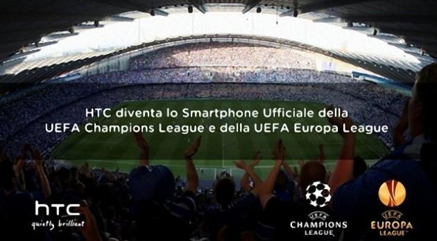HTC annuncia una partnership triennale con la UEFA