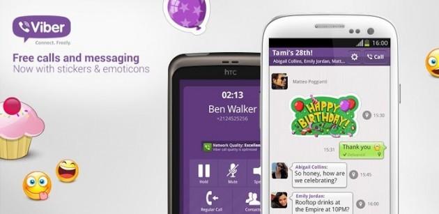 Viber per Android si aggiorna alla versione 2.3.0