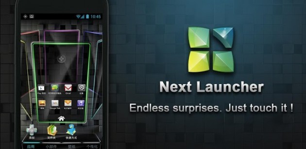 Next Launcher disponibile sul Play Store a 12,34€
