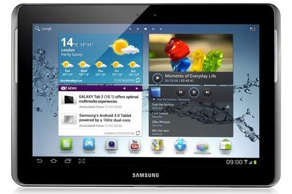 Samsung Galaxy Tab 2 10.1 WiFi: inizia il rilascio di Android 4.1.1