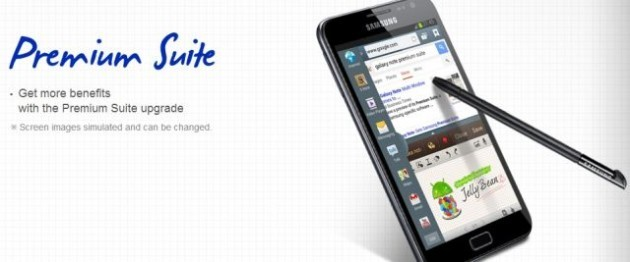 Samsung conferma l'arrivo di Jelly Bean e Premium Suite su Galaxy Note
