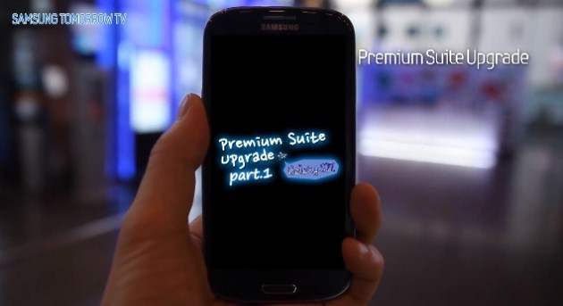 Samsung ci mostra in video la Premium Suite per Galaxy S III