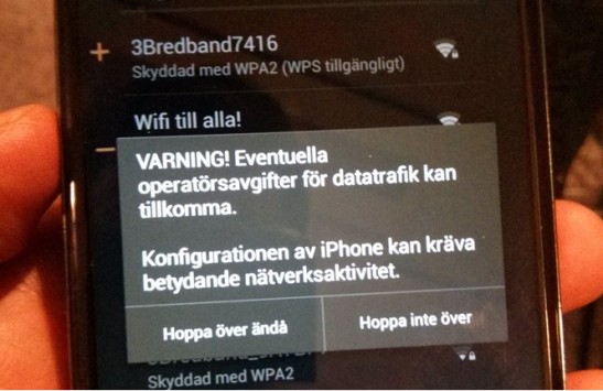 Google in Svezia chiama