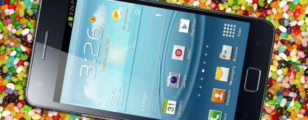 Samsung Galaxy Note II: disponibile Android 4.1.2 per i brand Vodafone