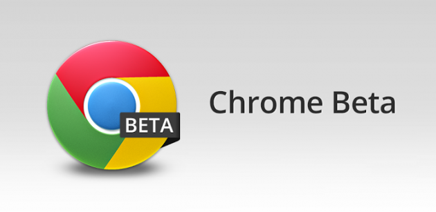 Chrome Beta aggiornato con il supporto a chrome://flags