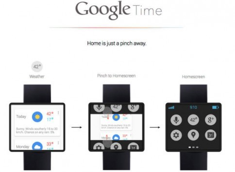 Google Time: lo smartwatch di Google