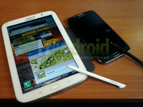 Samsung Galaxy Note 8.0: ecco due nuove fotografie e la sua S-Pen