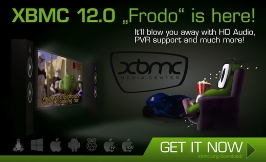 XBMC 12.0 Frodo: disponibile la versione stabile per Android