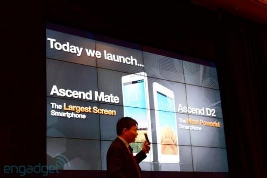 Huawei al CES 2013: annunciati uffialmente l'Ascend D2 e l'Ascend Mate