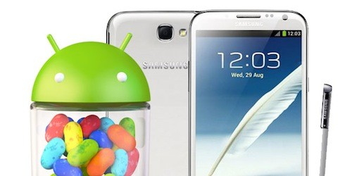 Samsung Galaxy Note II: disponibile Android 4.1.2 per i brand H3G Italia
