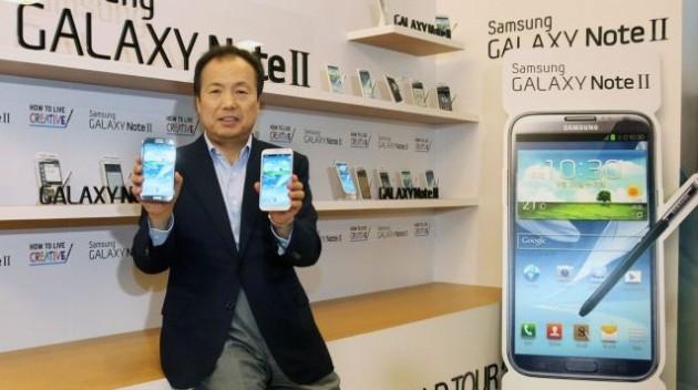 Samsung Galaxy Note II: vendute 1 milioni di unità in Corea e in arrivo i colori rosso e marrone