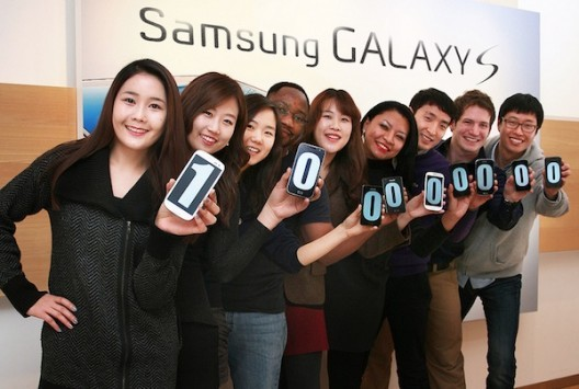 Samsung ha venduto 100 milioni di smartphone della famiglia Galaxy S