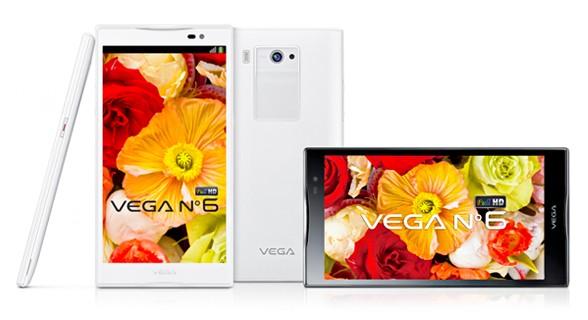 Pantech svela ufficialmente il nuovo Vega 6 con display da 5.9