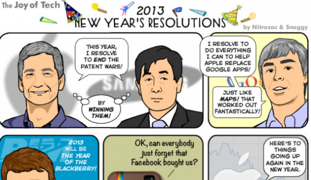 New Year's Resolutions: Humor Tech per il nuovo anno