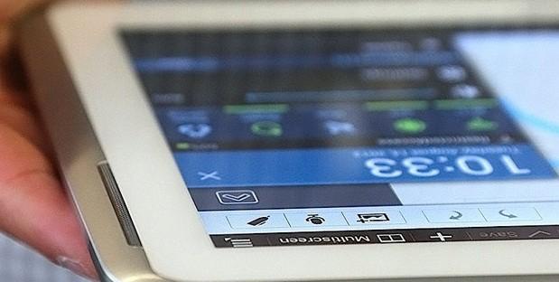 Samsung Galaxy Note 10.1 si aggiorna ad Android 4.1.2 anche in Italia