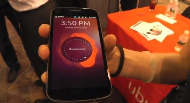 Ubuntu OS per Galaxy Nexus da fine Febbraio (video hands-on)