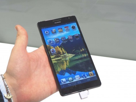 [MWC 2013] Huawei al MWC 2013: Ascend P2 e Ascend Mate - Hands-on di Androidiani.com