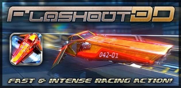 Arriva Flashout 3D, un nuovo gioco di corse futuristiche in stile Wipeout