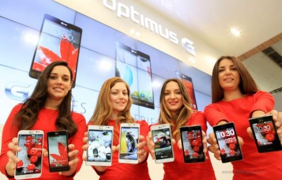 LG Optimus G Pro: oltre 500'000 pezzi venduti in soli 40 giorni