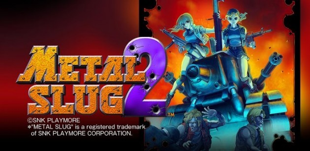 Metal Slug 2 disponibile sul Play Store
