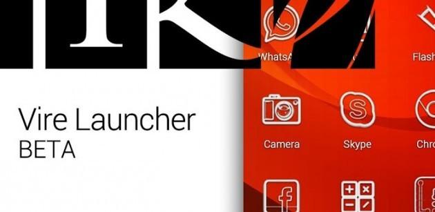 Vire Launcher, per una home d'effetto