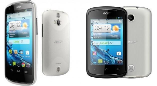 Acer Liquid E1 e Liquid Z2 da Marzo in Italia a 229€ e 129€
