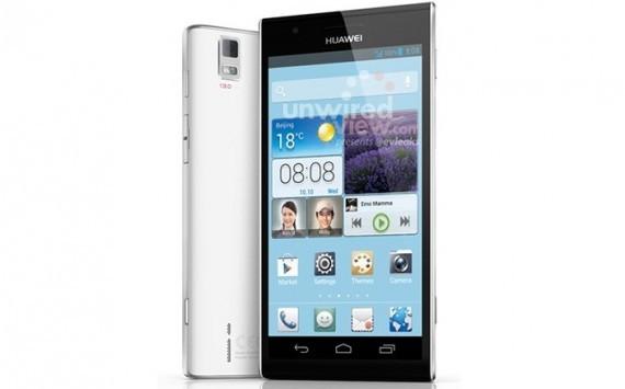 Huawei Ascend P2 Mini al MWC 2013