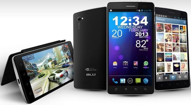 BLU annuncia la nuova gamma di smartphone Quattro con Nvidia Tegra 3