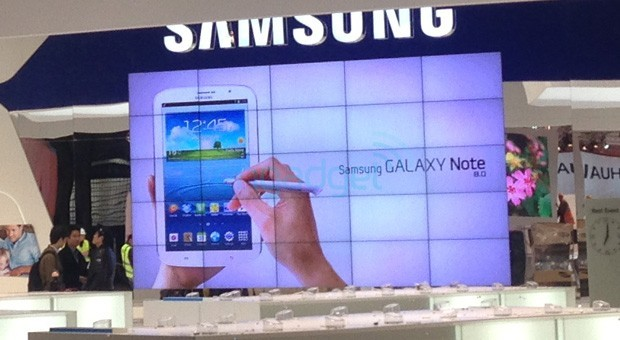 Samsung Galaxy Note 8.0: foto leaked in Charcoal Black