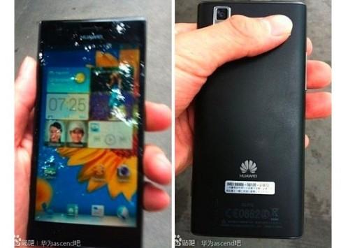 Huawei Ascend P2: prime immagini e dettagli sul prezzo