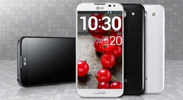 LG annuncia Optimus G Pro con display curvo da 5.5 pollici