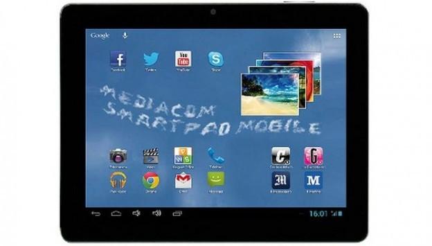 Mediacom presenta il nuovo Smart Pad Mobile 8 con Android 4.1 e 3G a 210€