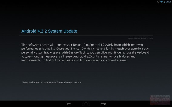 Android 4.2.2 Jelly Bean: roll-out iniziato per Galaxy Nexus, Nexus 7 e Nexus 10