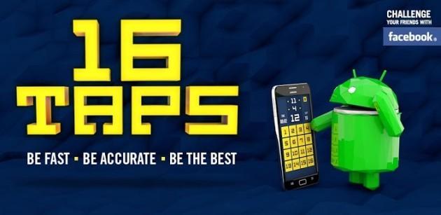 16Taps: 16 tocchi per 16 numeri in una sfida contro il tempo