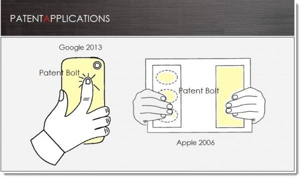 Google: nuovo brevetto per controlli touch sul retro degli smartphone