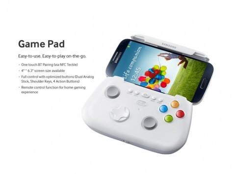 Samsung Galaxy S IV: video dimostrativo del GamePad ufficiale