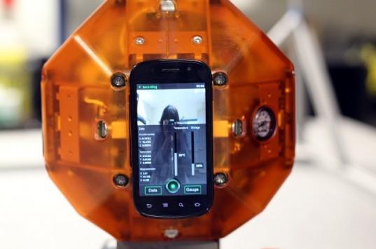 Android nello spazio: i robots NASA equipaggiati con un Nexus S