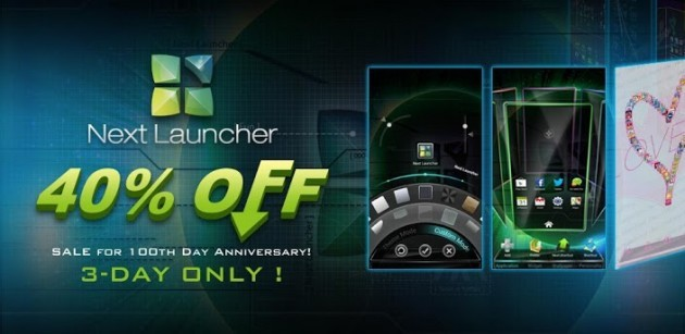 Next Launcher 3D scontato a 7.35€ sul Play Store