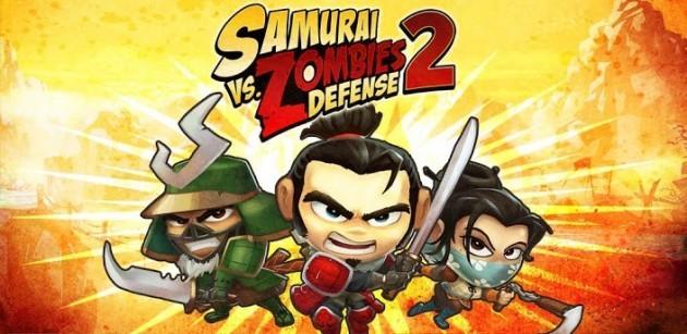 Glu Mobile rilascia anche Samurai vs Zombies Defense 2 sul Play Store