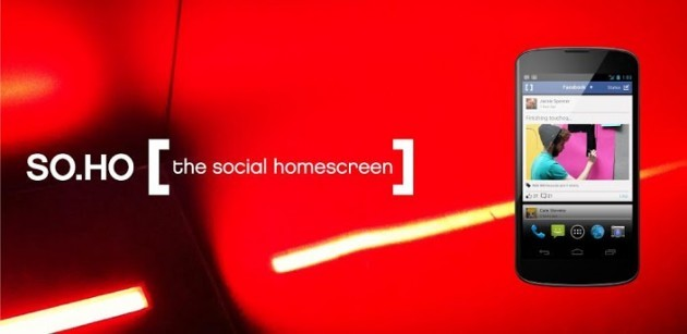 SO.HO: the social homescreen, un nuovo e particolare launcher per Android