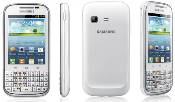 Samsung Galaxy Chat: disponibile l'update ad Android 4.1.2