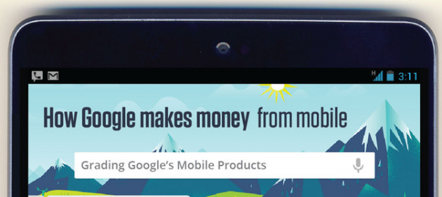 Google ed i ricavi da mobile: ecco una nuova infografica