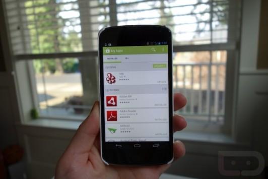Google Play 4.0: sarà questa la grafica della nuova versione dello store?