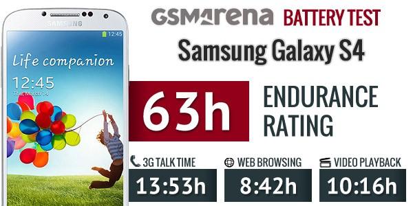 Samsung Galaxy S IV: i primi test rivelano una batteria da oltre 13 ore in conversazione