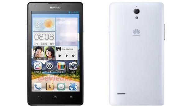 Trapelano in rete le prime immagini del nuovo smartphone Huawei Ascend G700