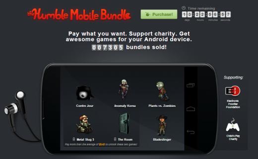 Humble Mobile Bundle: disponibile il primo Humble Bundle esclusivo per Android