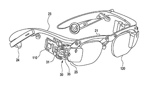 Sony brevetta degli occhiali simili ai Google Glass