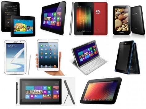 IDC prevede che le spedizioni dei tablet supereranno quelle dei notebook entro il 2014